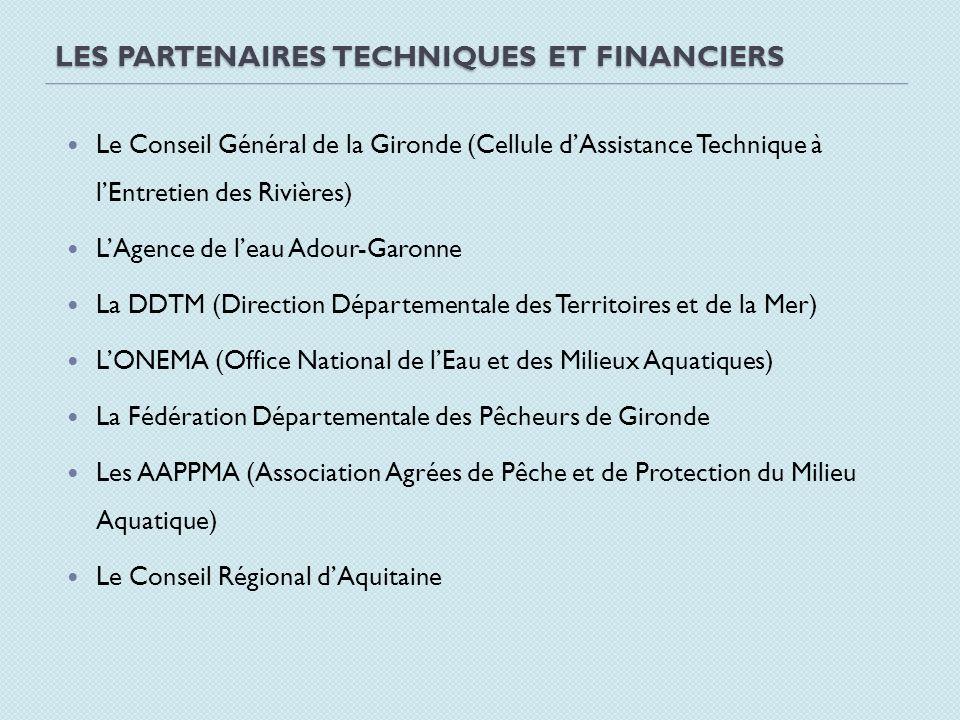 Les partenaires techniques et financiers