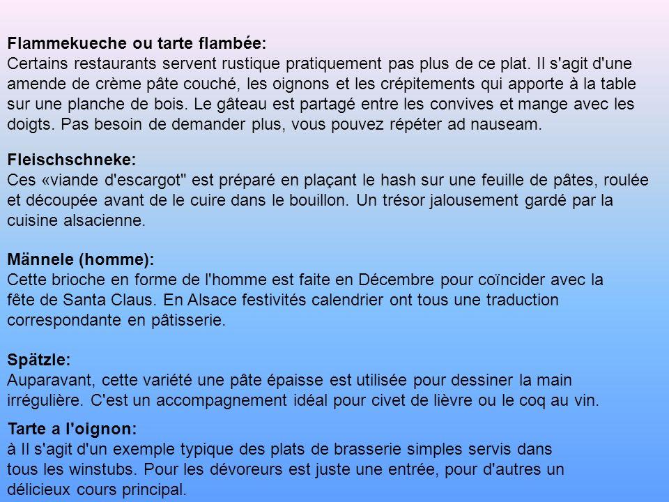 Flammekueche ou tarte flambée: