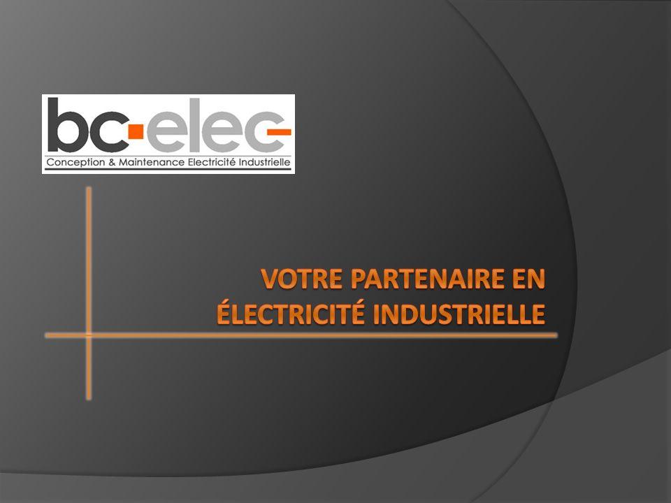 Votre partenaire en électricité industrielle
