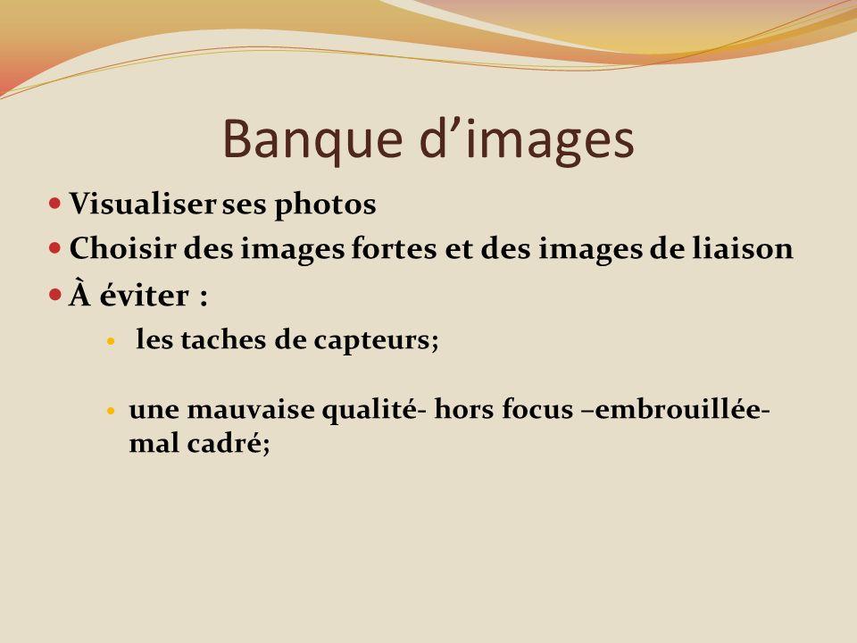 Banque d'images À éviter : Visualiser ses photos