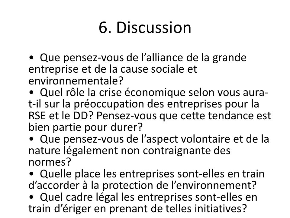 6. Discussion