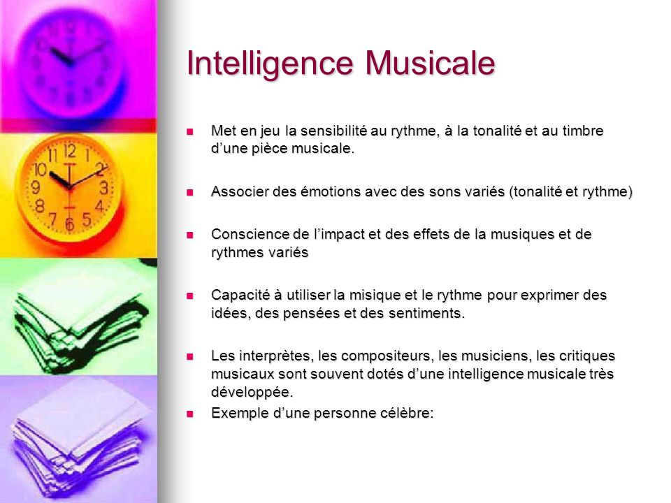 Intelligence Musicale
