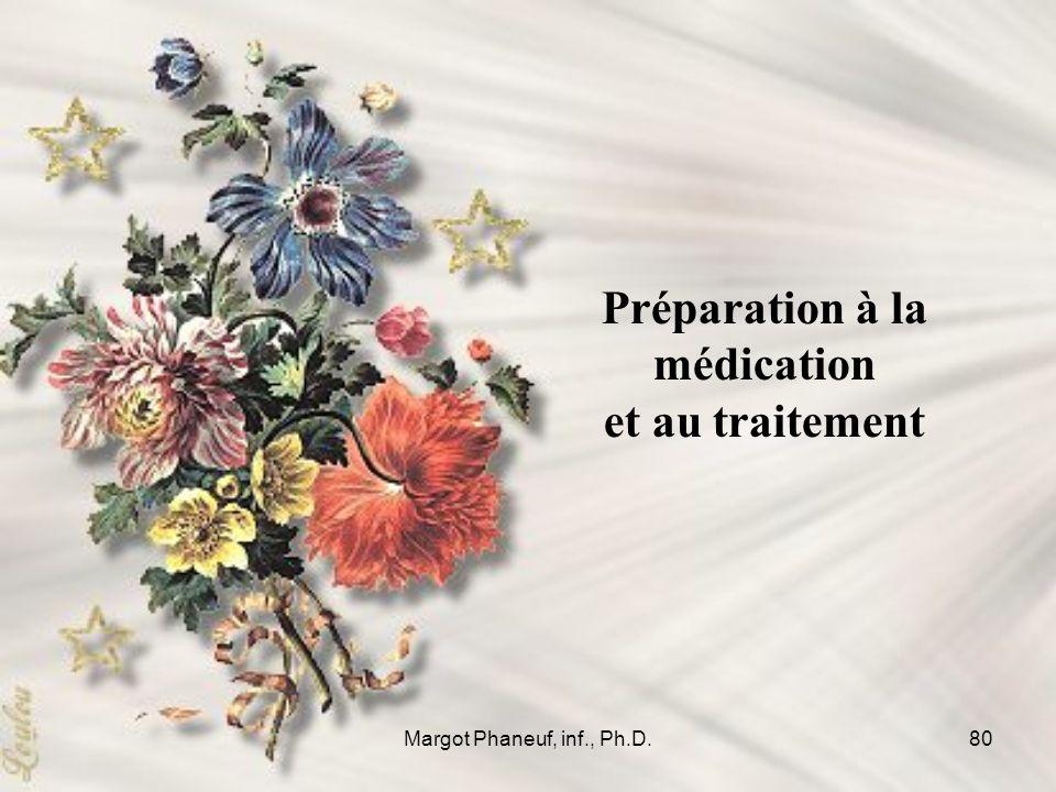Préparation à la médication