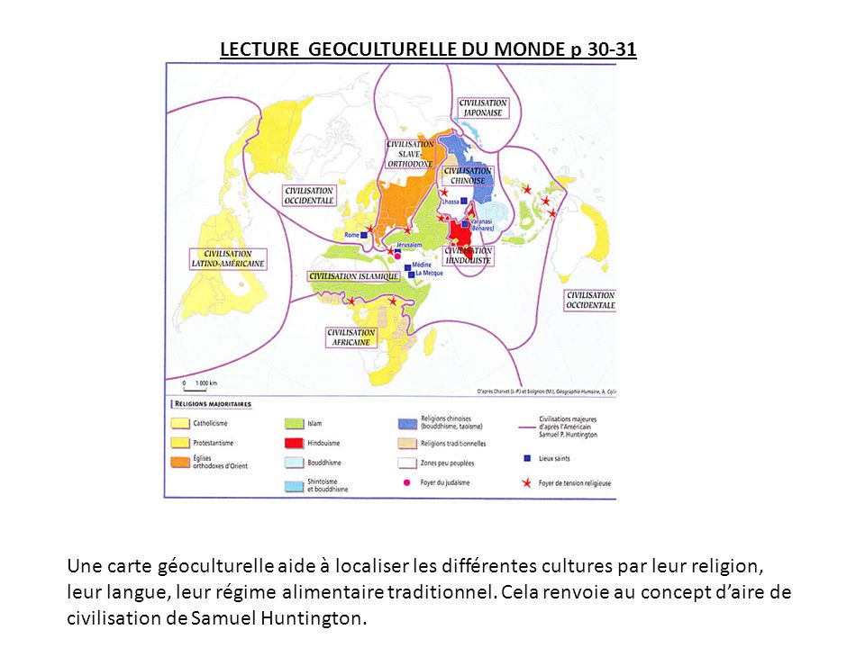 LECTURE GEOCULTURELLE DU MONDE p 30-31