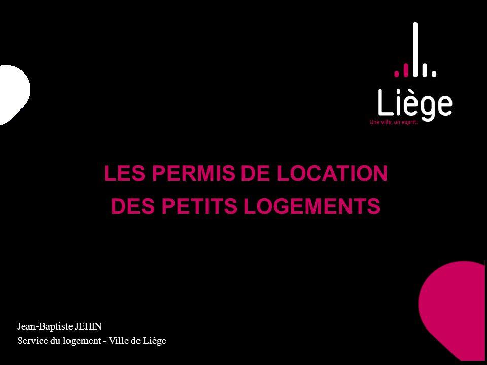 LES PERMIS DE LOCATION DES PETITS LOGEMENTS