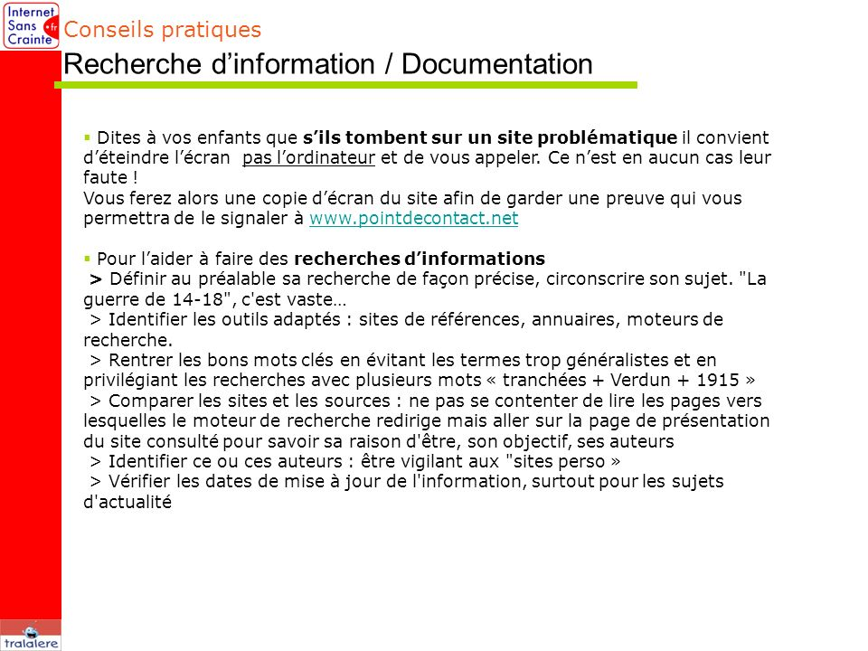 Recherche d'information / Documentation