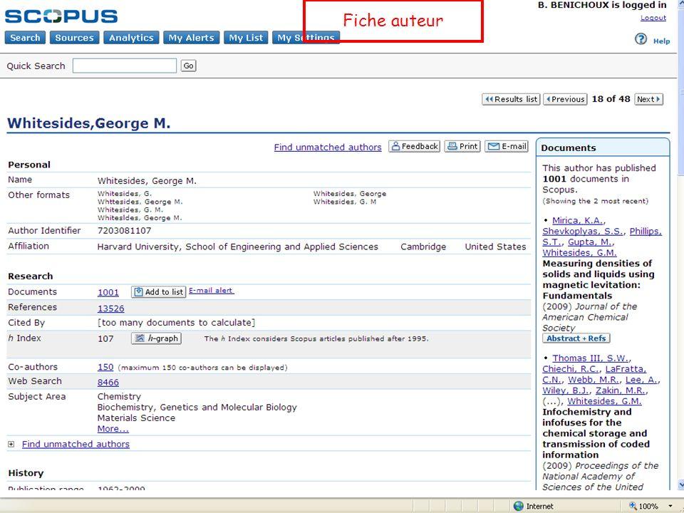 Fiche auteur B. Bénichoux - 25 juin 2010
