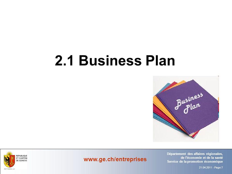 2.1 Business Plan Département Office
