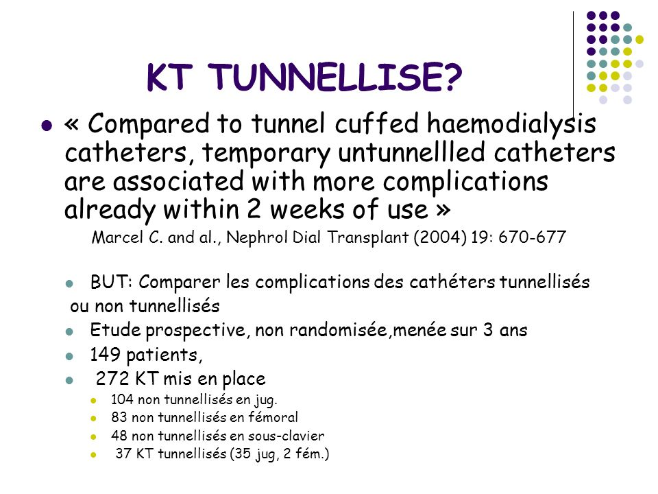 Marcel C. and al., Nephrol Dial Transplant (2004) 19: 670-677