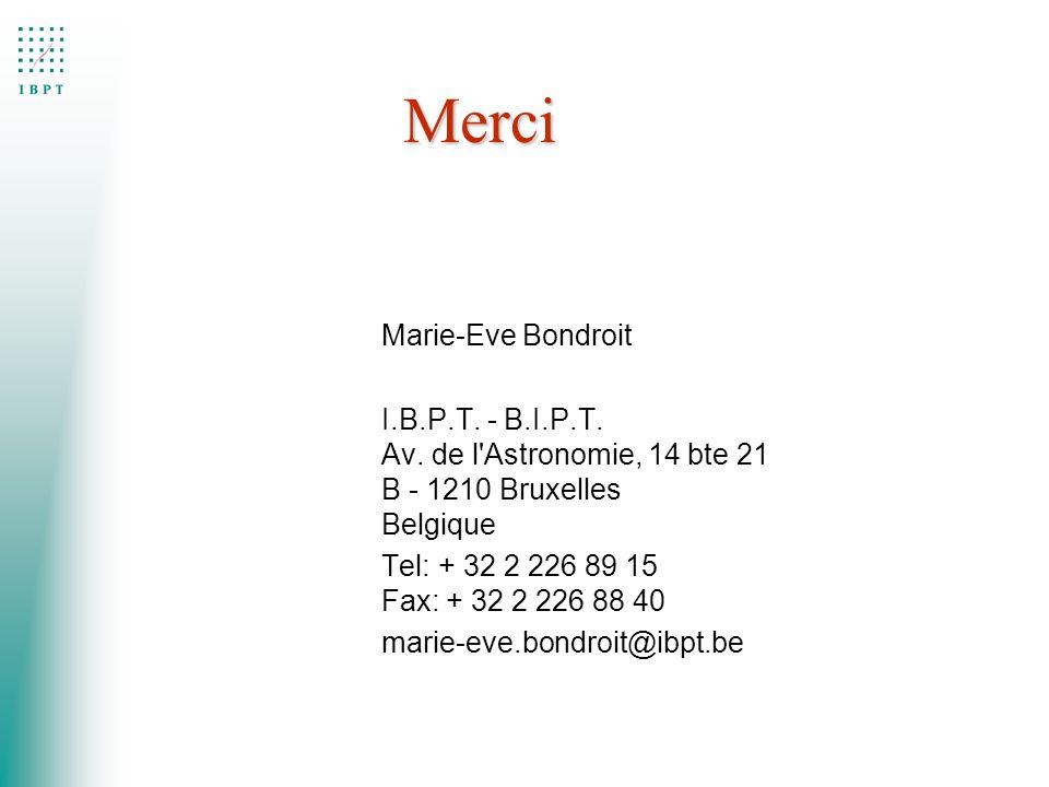 Merci Marie-Eve Bondroit