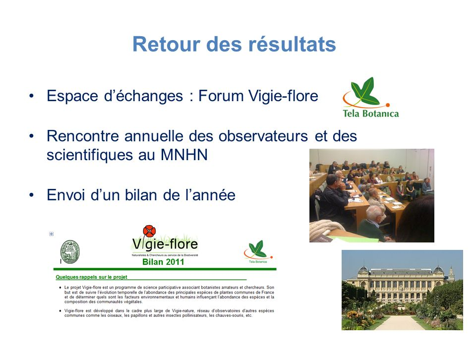 Retour des résultats Espace d'échanges : Forum Vigie-flore