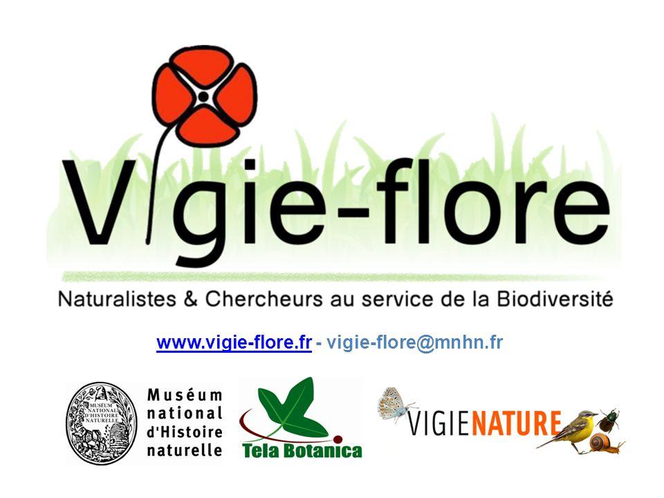 www.vigie-flore.fr - vigie-flore@mnhn.fr