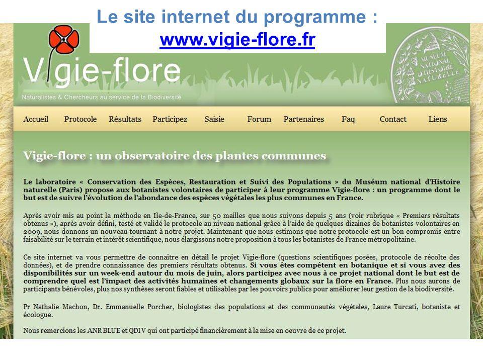 Le site internet du programme :