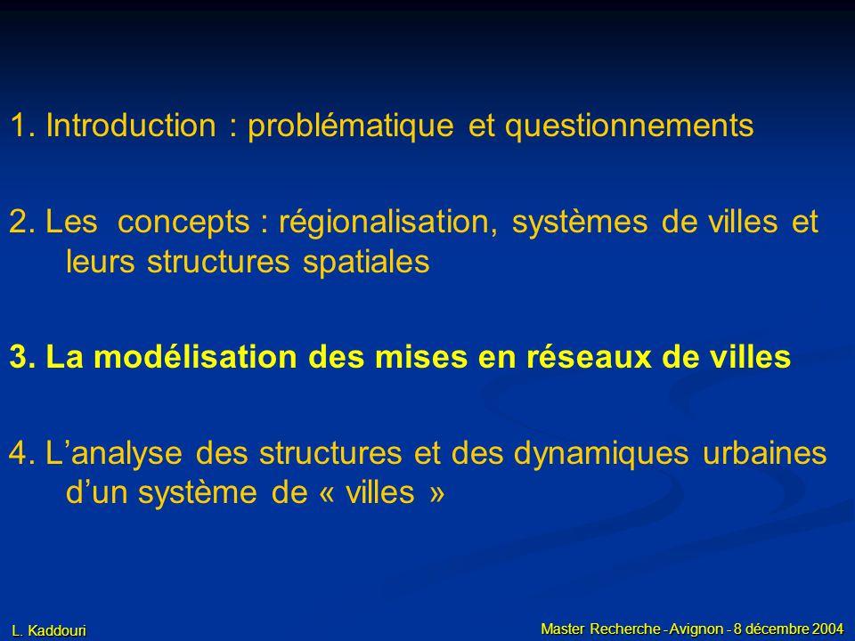 2. Les concepts c. Structures et dynamiques urbaines