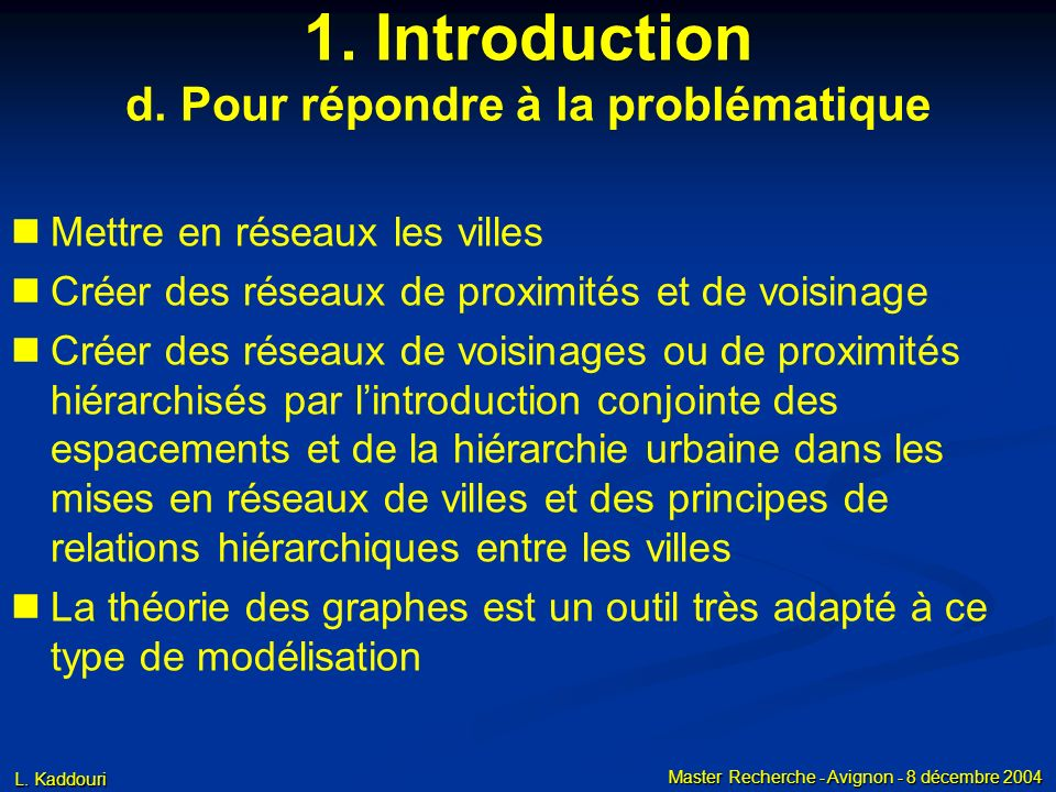 1. Introduction c. Nos hypothèses