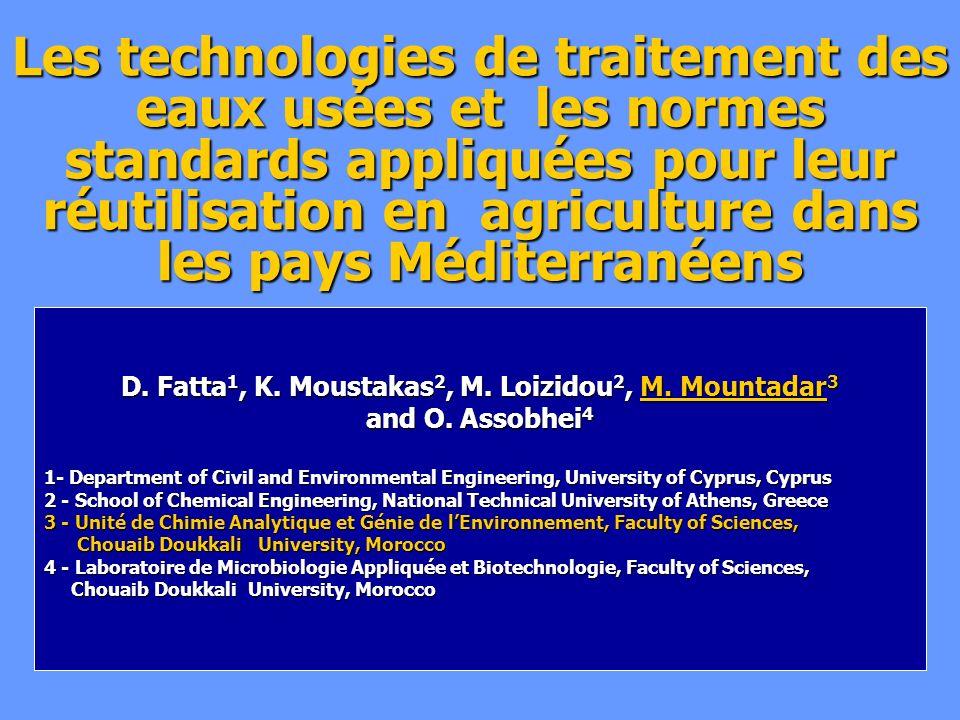 D. Fatta1, K. Moustakas2, M. Loizidou2, M. Mountadar3