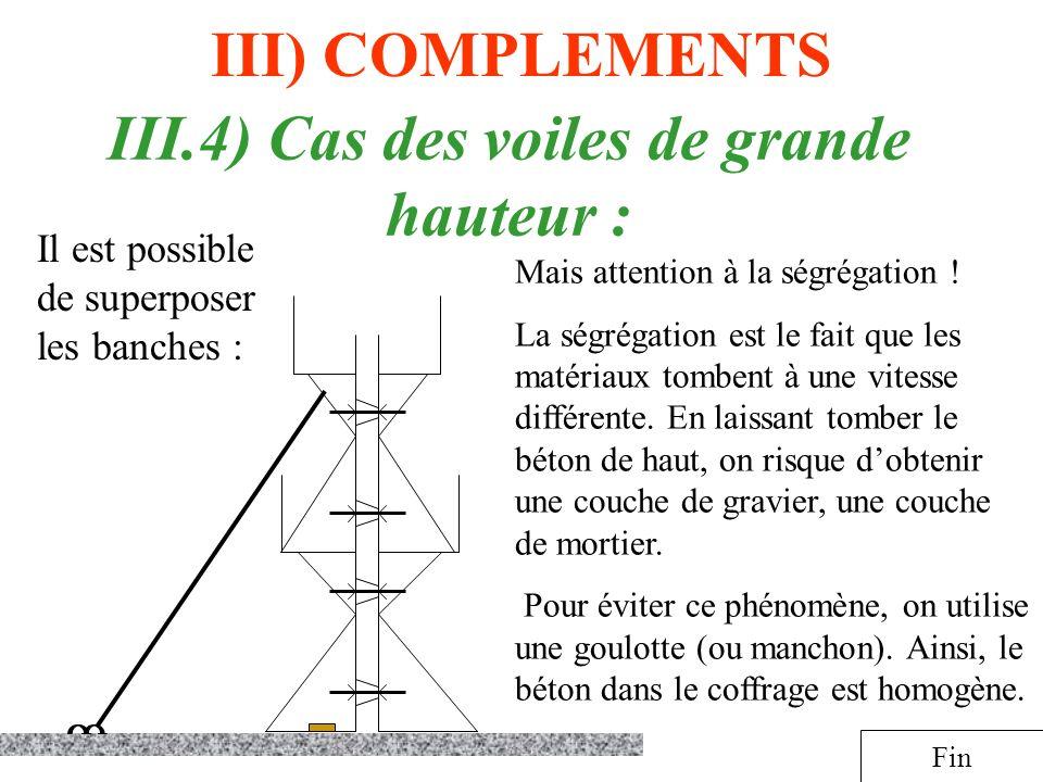 III.4) Cas des voiles de grande hauteur :