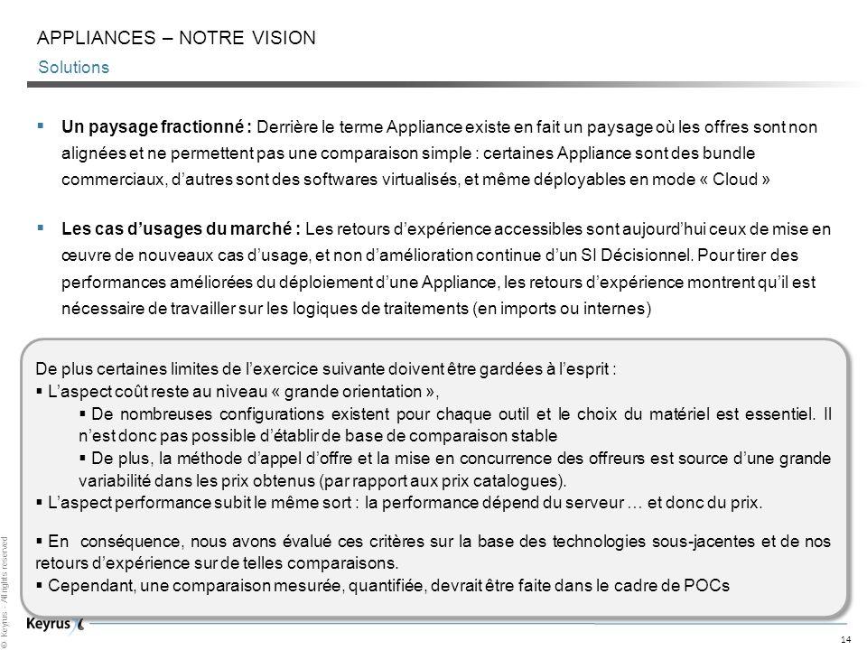 ApplianceS – Notre vision