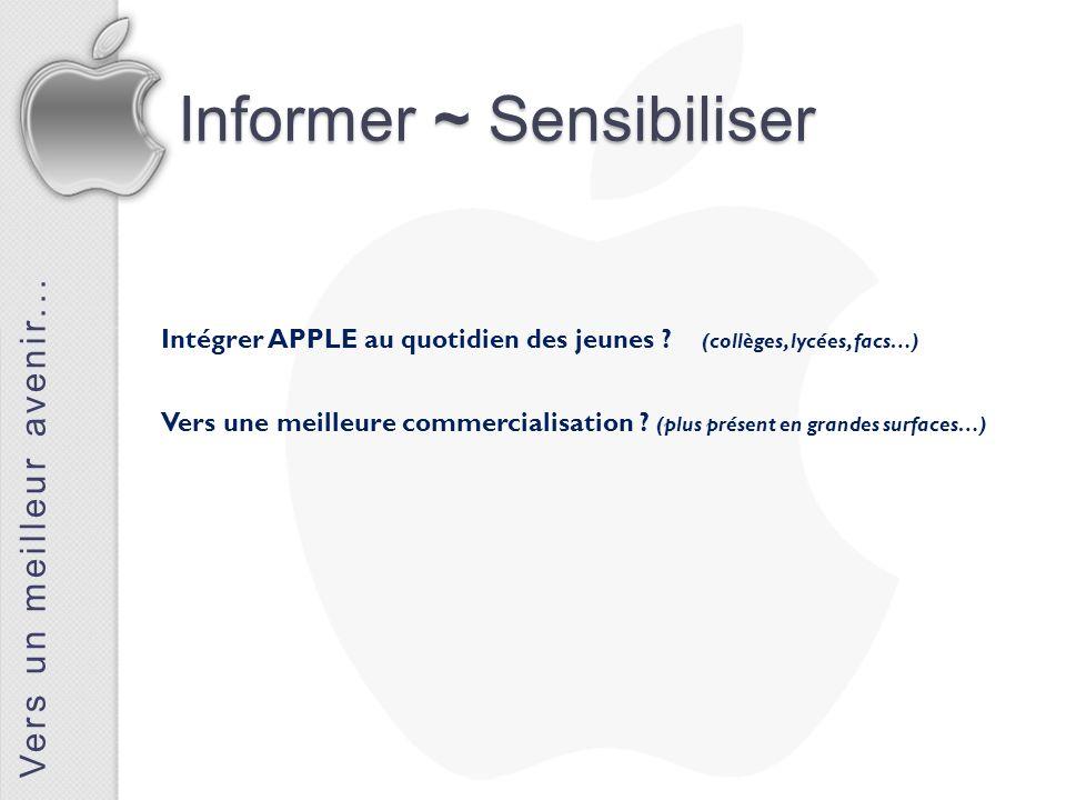 Informer ~ Sensibiliser