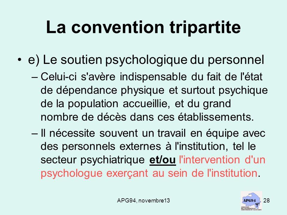 La convention tripartite