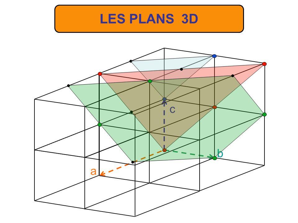 LES PLANS 3D b c a