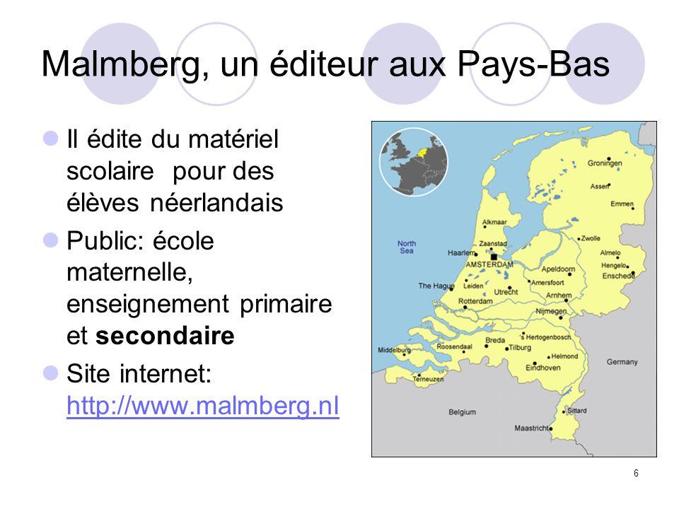 Malmberg, un éditeur aux Pays-Bas