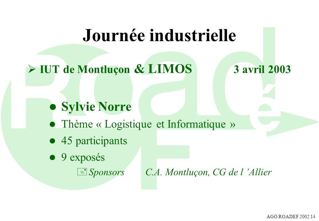 Journée industrielle Sylvie Norre