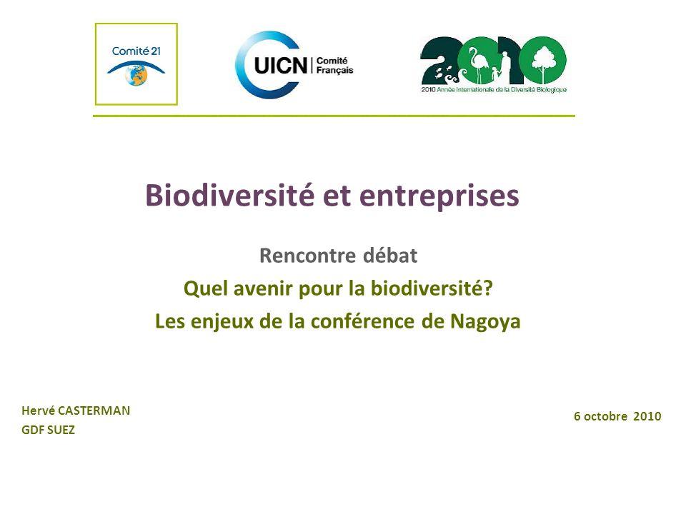 Biodiversité et entreprises