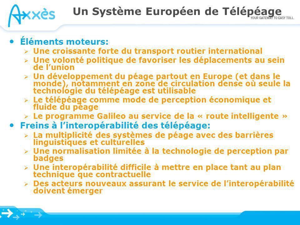 Un Système Européen de Télépéage