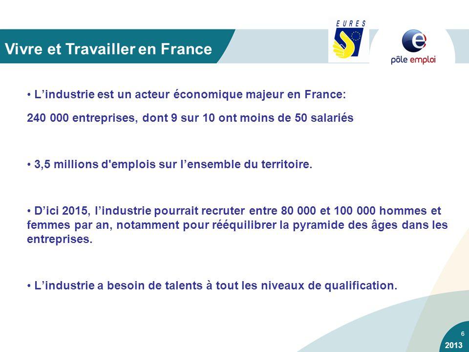 Vivre et Travailler en France
