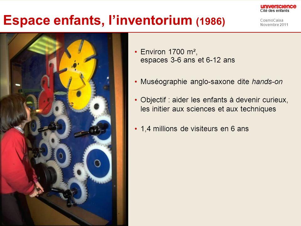 Espace enfants, l'inventorium (1986)