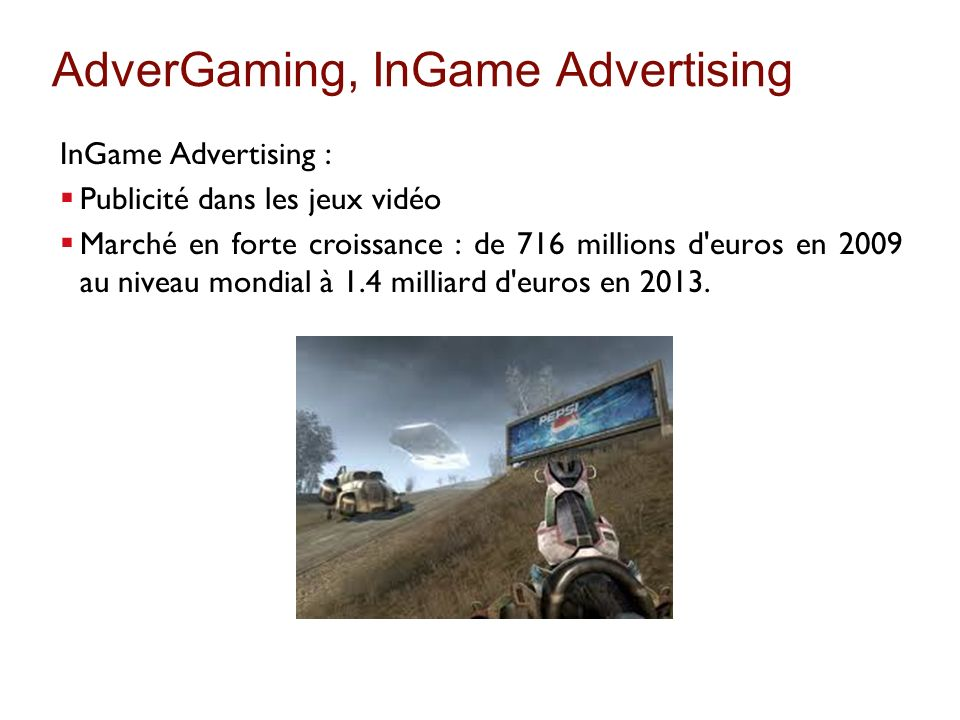 AdverGaming, InGame Advertising
