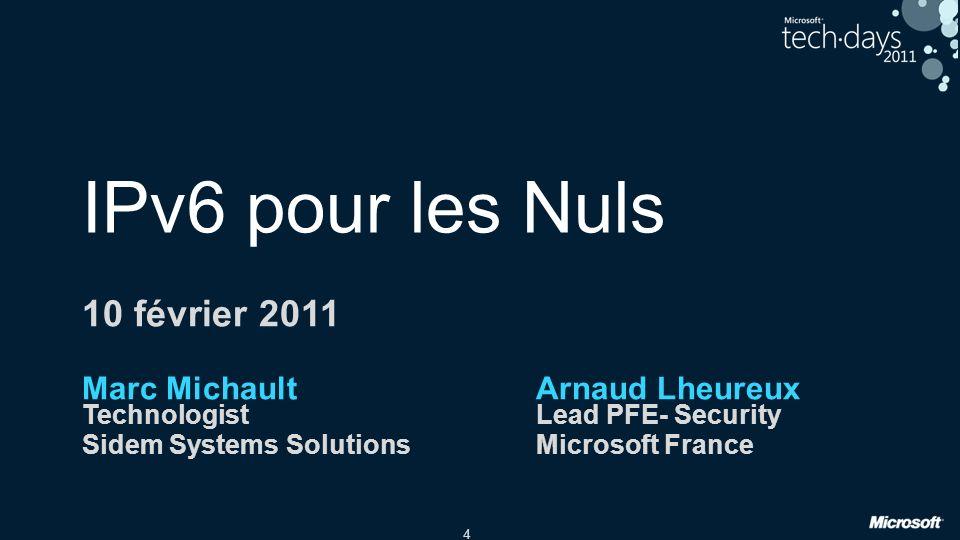 IPv6 pour les Nuls 10 février 2011