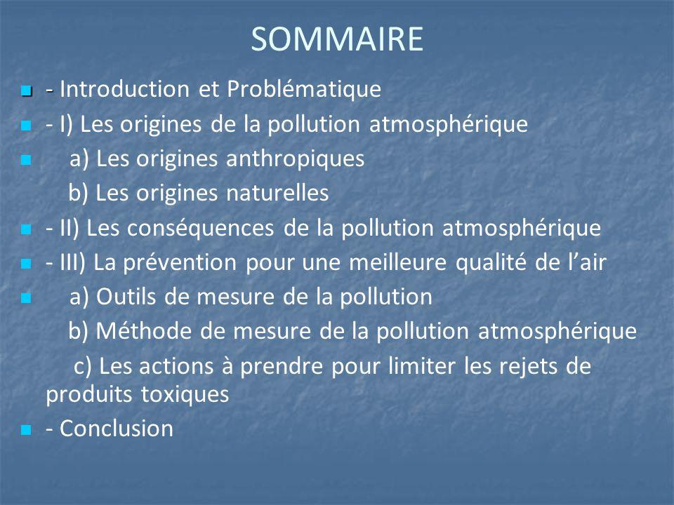 SOMMAIRE - Introduction et Problématique