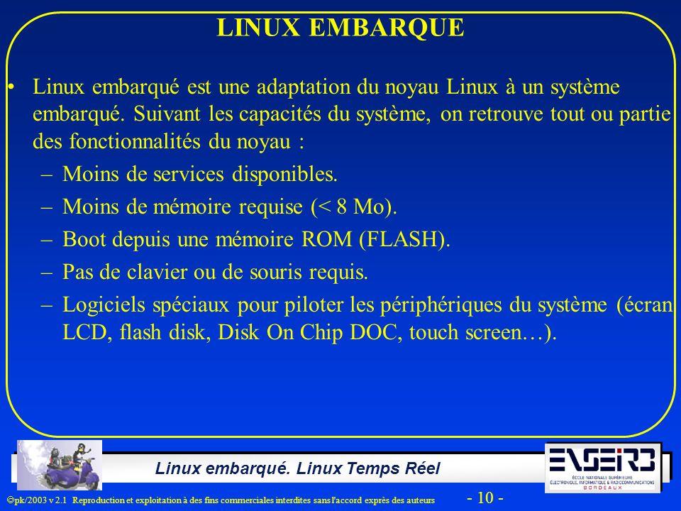 LINUX EMBARQUE