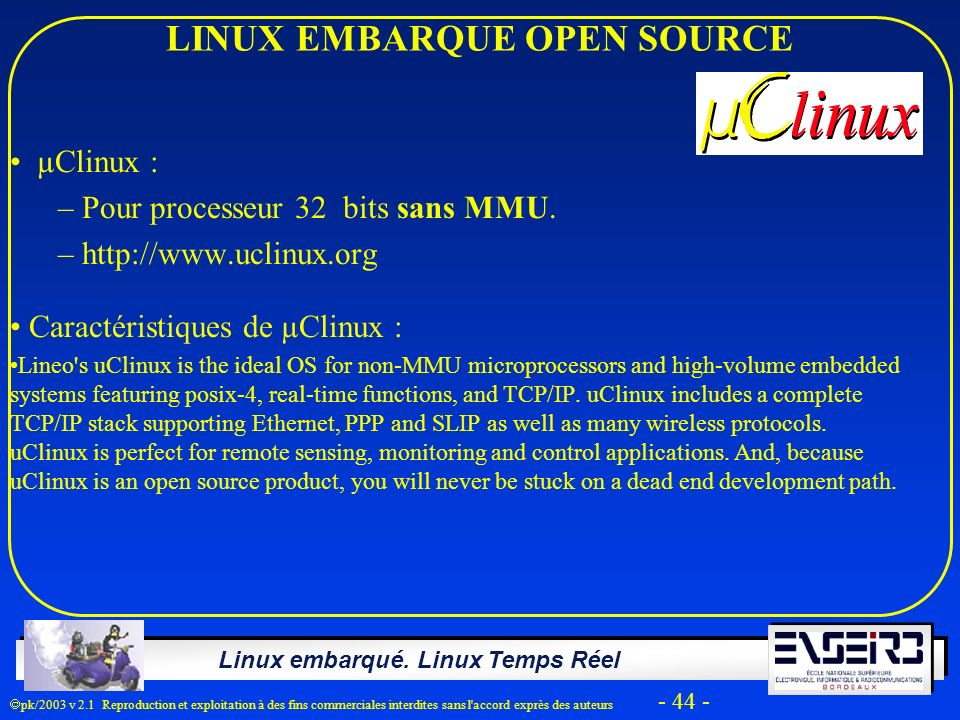LINUX EMBARQUE OPEN SOURCE