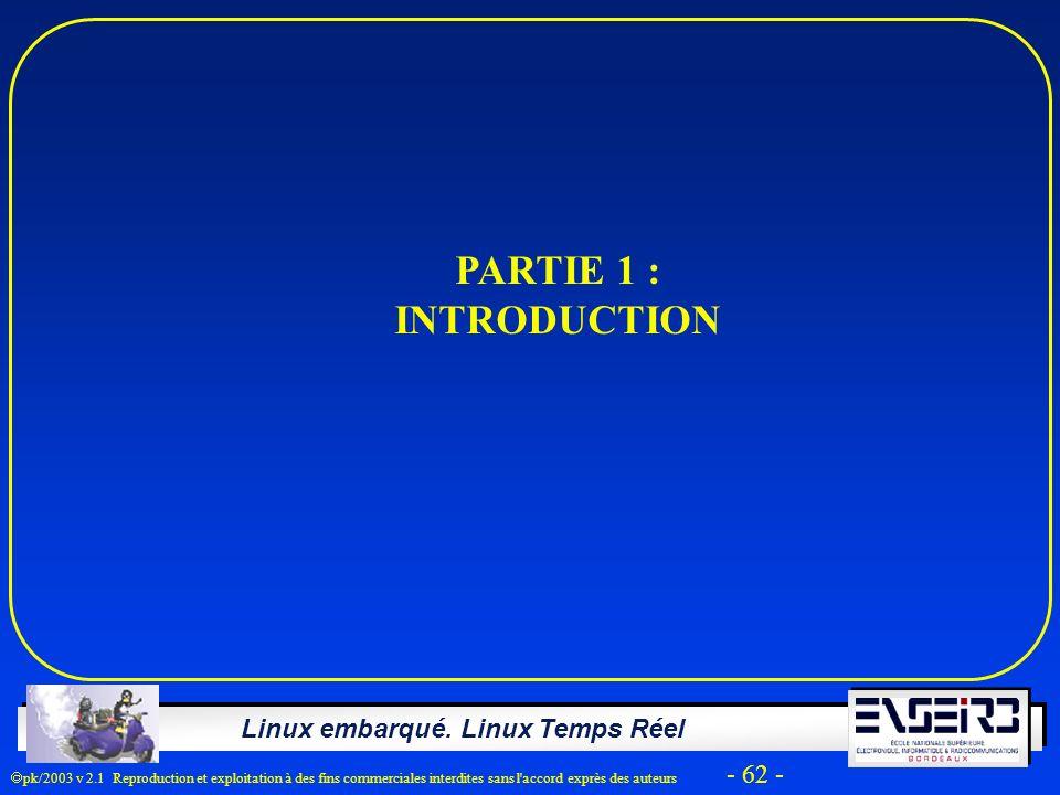PARTIE 1 : INTRODUCTION