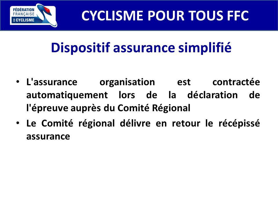 Dispositif assurance simplifié