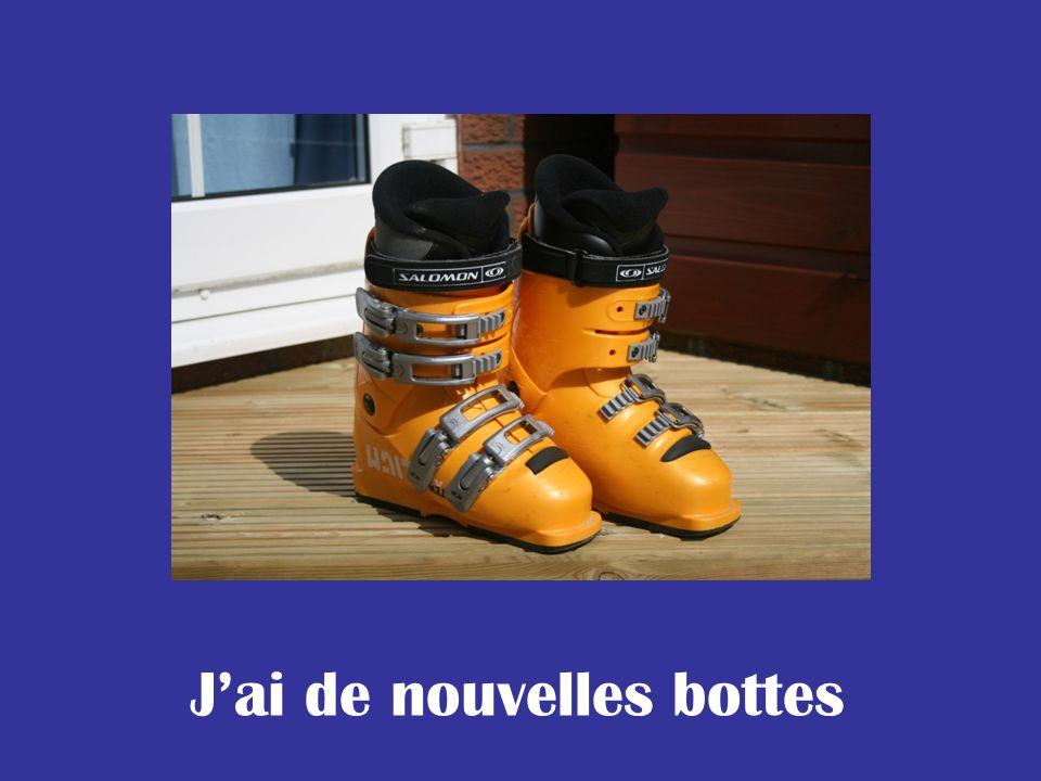 J'ai de nouvelles bottes