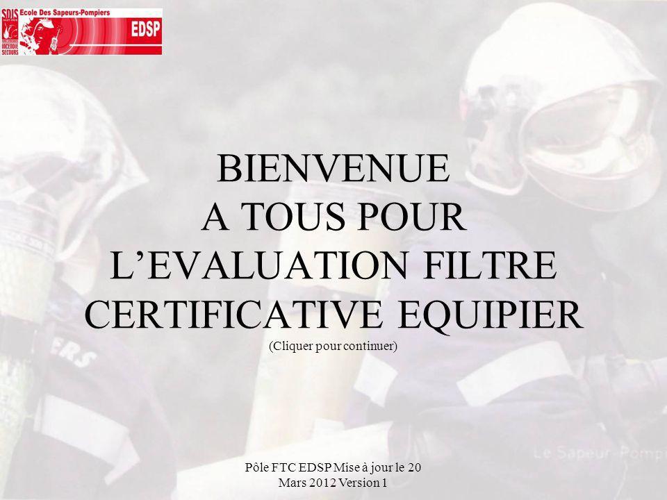 Pôle FTC EDSP Mise à jour le 20 Mars 2012 Version 1