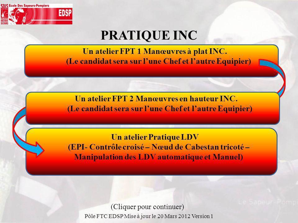 PRATIQUE INC Un atelier FPT 1 Manœuvres à plat INC.