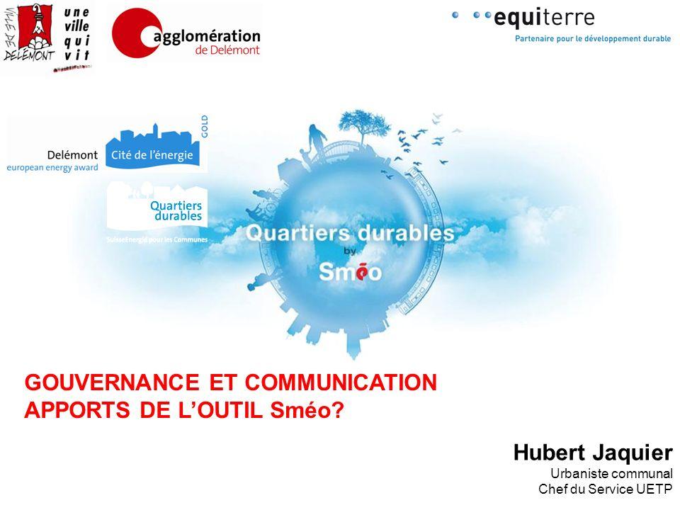 GOUVERNANCE ET COMMUNICATION APPORTS DE L'OUTIL Sméo