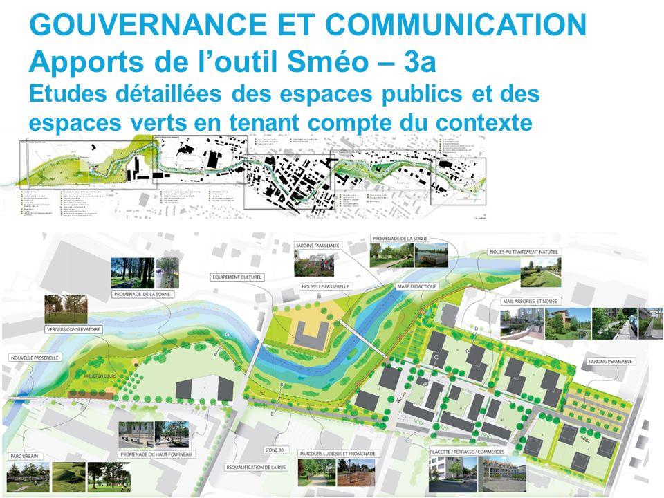 GOUVERNANCE ET COMMUNICATION Apports de l'outil Sméo – 3a