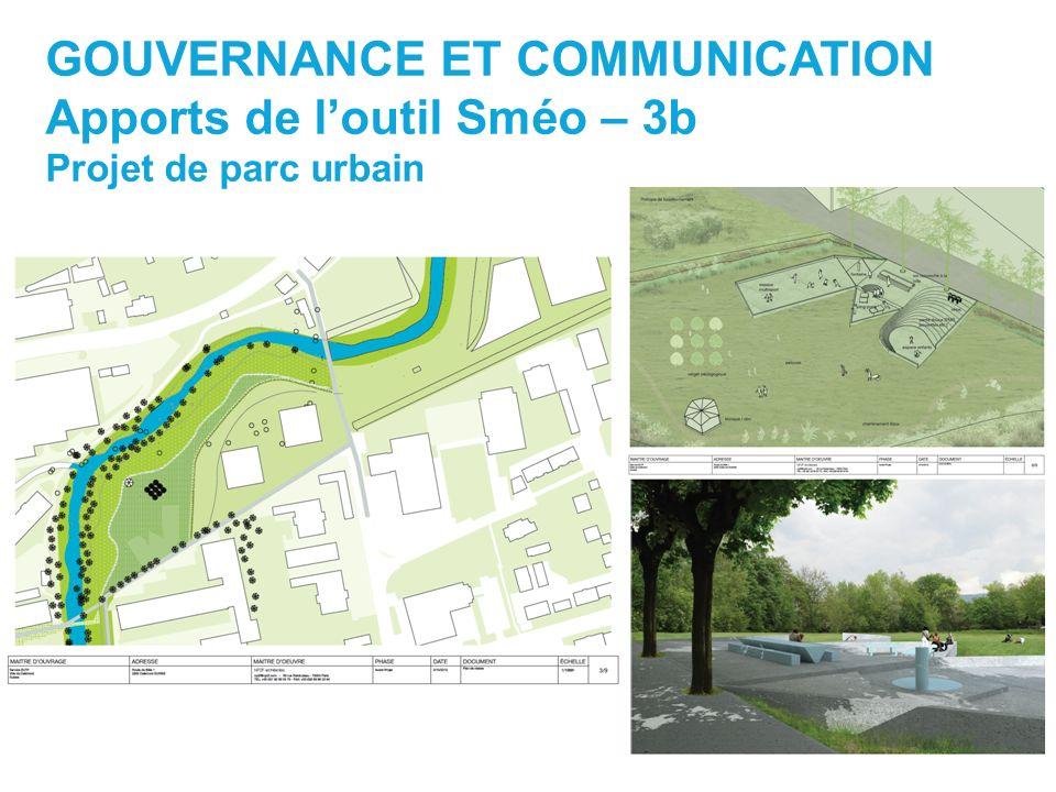 GOUVERNANCE ET COMMUNICATION Apports de l'outil Sméo – 3b