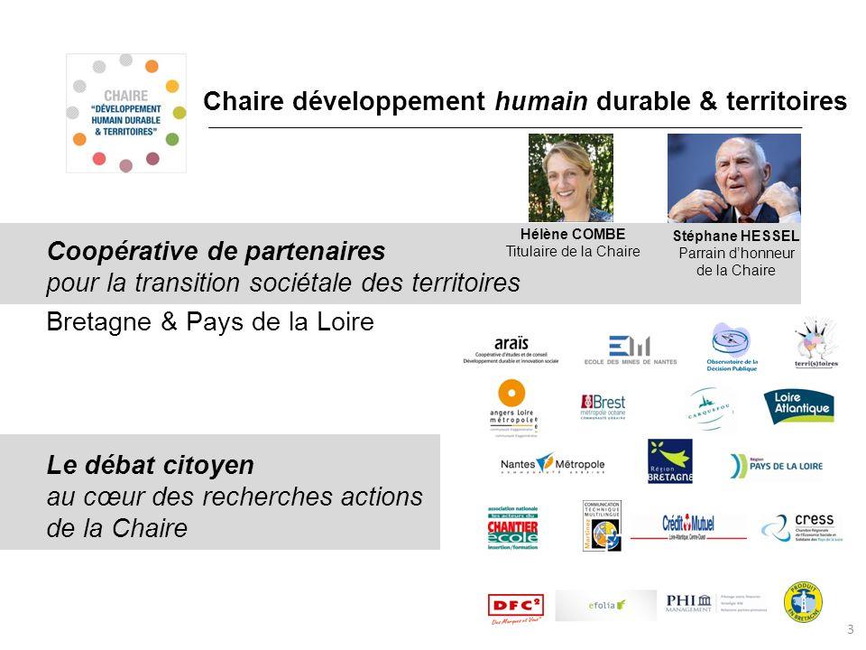 Chaire développement humain durable & territoires