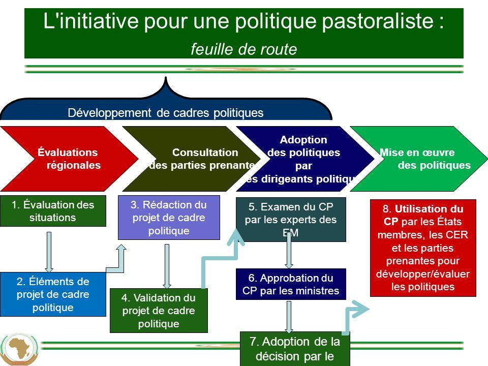 L initiative pour une politique pastoraliste : feuille de route