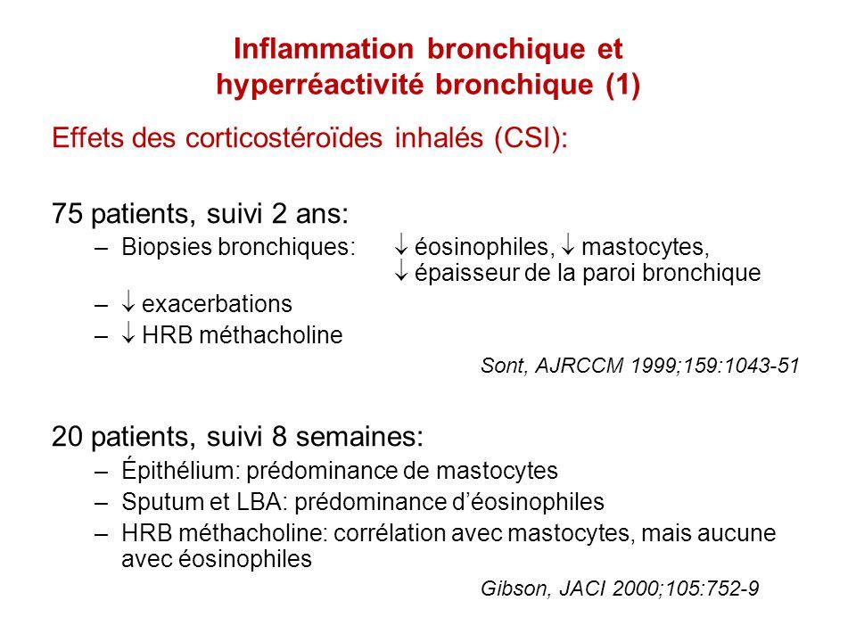 Inflammation bronchique et hyperréactivité bronchique (1)