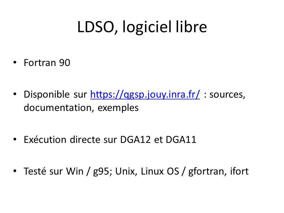 LDSO, logiciel libre Fortran 90