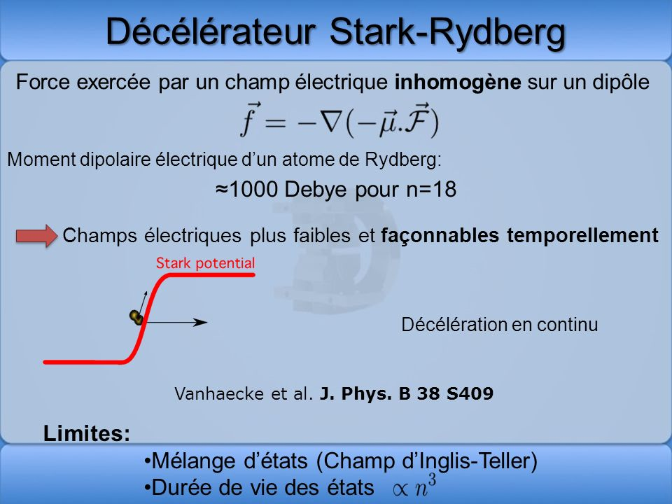 Décélérateur Stark-Rydberg