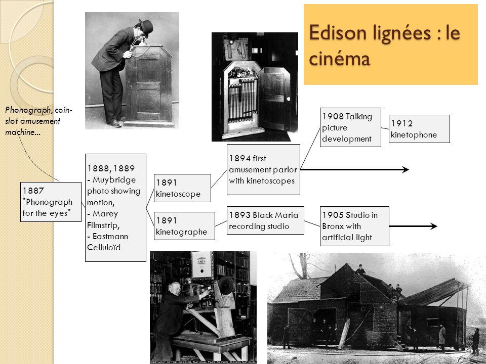 Edison lignées : le cinéma
